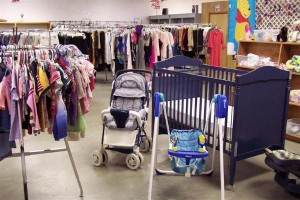 thrift-store-secondhand-baby-clothes-and-gear