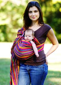 Baby Wearing 101: Using Baby Slings and Wraps