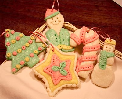 This ... - Baked Dough Christmas Ornaments