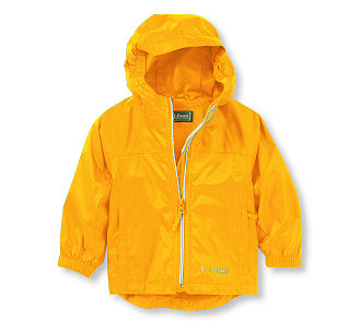 PVC in Children's Raingear