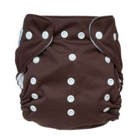 cloth diaper with snaps