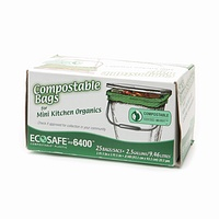 eco-safe compostable biodegradable garbage bags