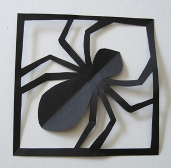 How to Make a Simple Paper Spider in its Web: More DIY ...