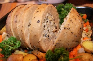 Tofurky as thanksgiving treat