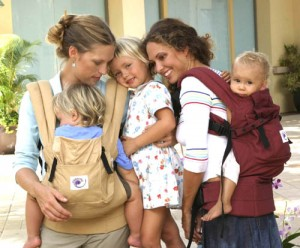 ergo carrier is a great baby gift idea