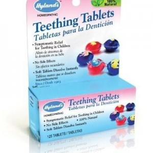 natural teething remediesHylands - Teething Tablets