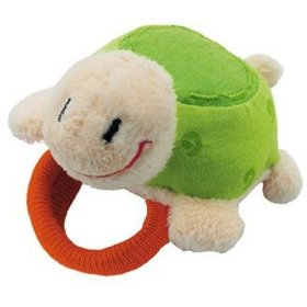 sevi rattle eco-friendly plush turtle toy