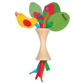 Earth Brights Cherry Tree Rattle