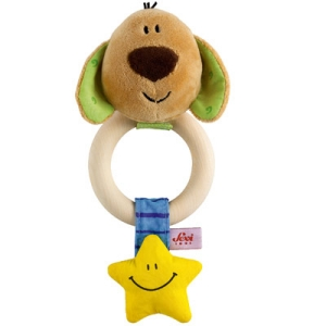 Sevi Dog Teething Ring Rattle