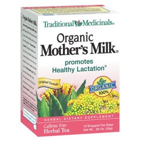 organic mother's milk tea