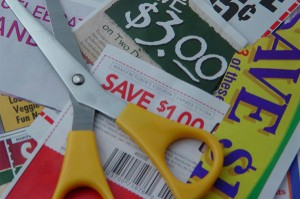 coupon clipping and green products
