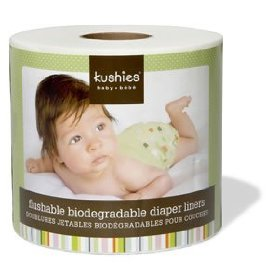 flushable diaper liners