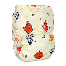 Mommy's touch one-size snap all in one cloth diaper