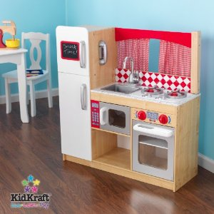 affordable wooden play kitchens make eco friendly holiday gifts rh greenbabyguide com kidkraft gracie wooden play kitchen kidkraft vintage wooden play kitchen