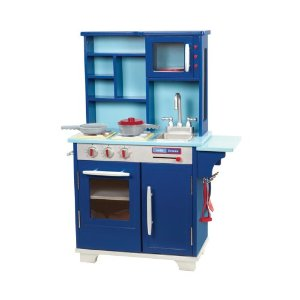 Affordable Wooden Play Kitchens Make Eco-friendly Holiday Gifts