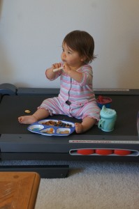Eating in front of the TV? Not on my watch!
