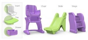 Modular Children's Chair