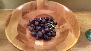 Homegrown Table Grapes