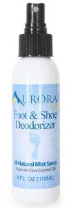 Aurorae Deodorizing Shoe and Foot Spray